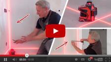 Как упростить, ускорить и улучшить ремонт квартиры с помощью лазерного уровня? Показываю на практике